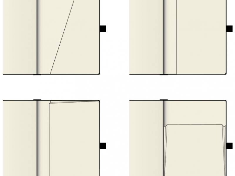 Back Cover Pocket Options